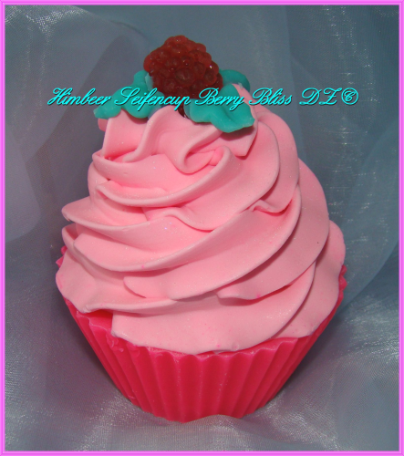 Seifencupcake Himbeere Berry Bliss