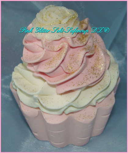Seifencup Pink Glitter