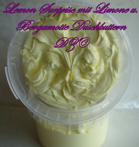 Badebutter Lemon Surprise