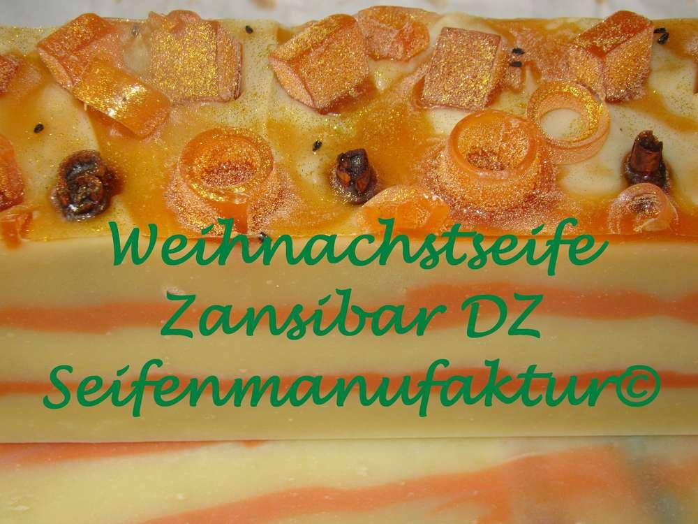 Weihnachtsseife Zansibar - Naturseifen aus dem Hause DZ Seifenmanufaktur